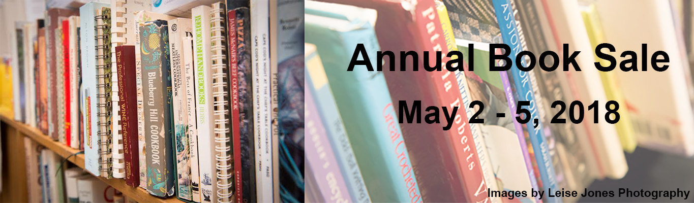 annual book sale May 2-5 2018
